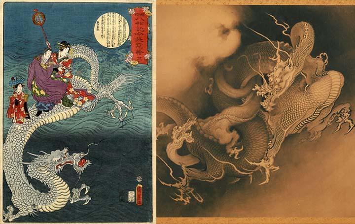El mito de los dragones: deidades antiguas y arcanos «Reyes Dragón».