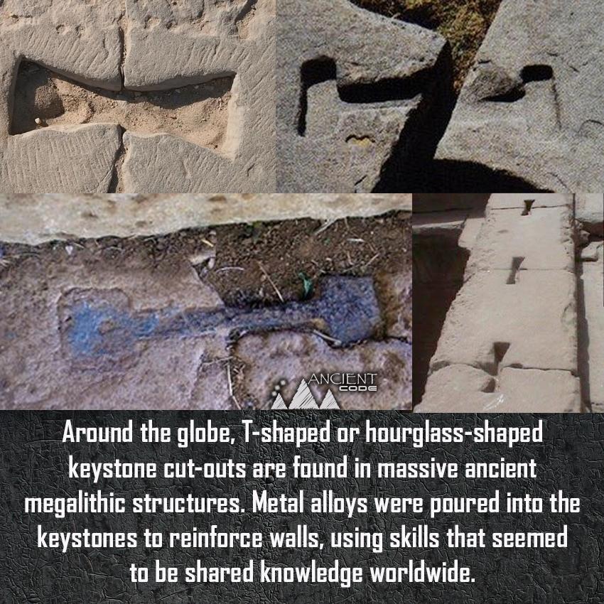 Las herramientas utilizadas para construir monumentos antiguos nos han estado mirando a la cara todo el tiempo?