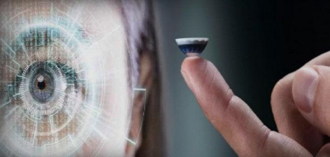 ¿El fin de los teléfonos inteligentes? El lente de contacto inteligente que te deja ver en la oscuridad