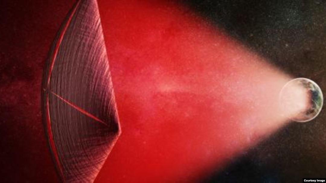¿Son los sonidos detectados por radiotelescopios causados por naves extraterrestres?