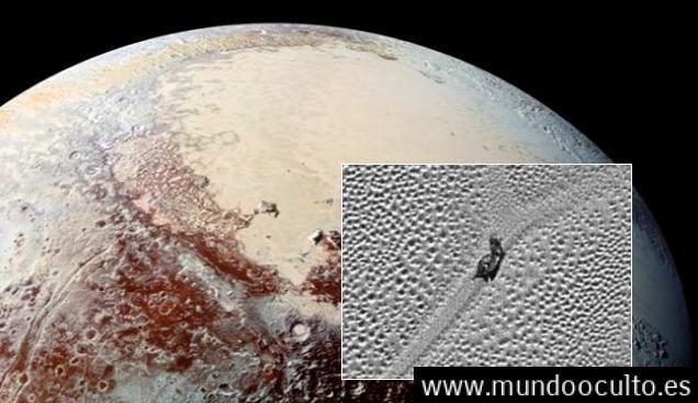 Algo extraño está arrastrándose en la superficie del planeta enano Plutón.