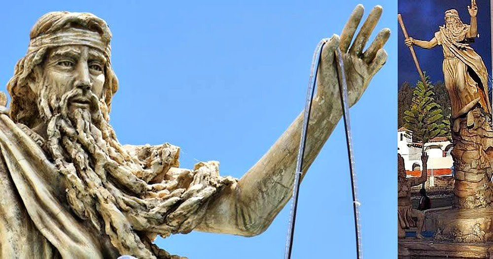 Bochica, el dios barbado de piel y cabellos blancos al que veneran los pueblos indígenas de Colombia