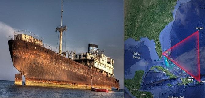 ¿Un barco fantasma desapareció hace 90 años en el Triángulo de las Bermudas y reapareció en Cuba?