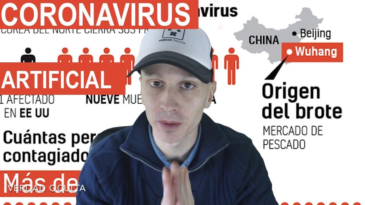 CORONAVIRUS su ORIGEN puede ser ARTIFICIAL