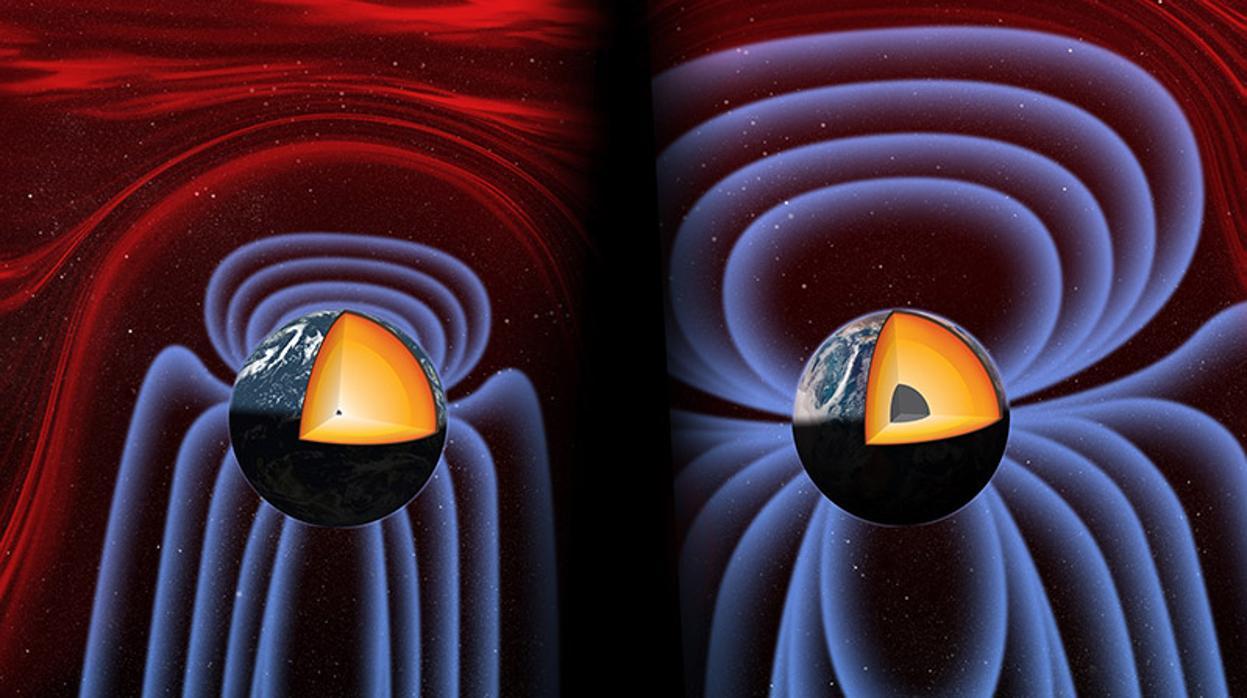 El campo magnético de la Tierra nació del cataclismo que creó la Luna