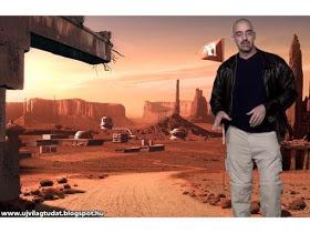 El hombre reclutado para unirse a la Fuerza de Defensa de Marte