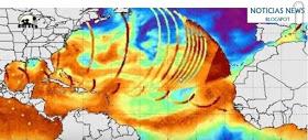 Energía en forma de microondas golpea el planeta Tierra - Destruye tormenta cerca de Nueva Zelanda