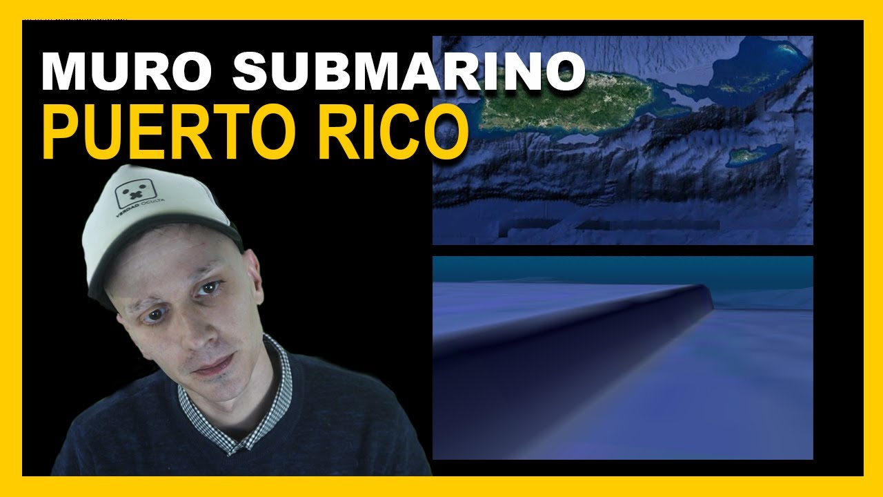 Enorme Muro Submarino en Puerto Rico