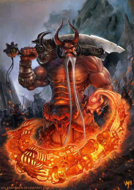 Erlik, el dios del inframundo mongol.