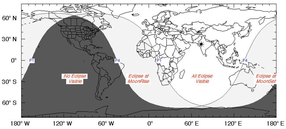 Este 10 de enero será la primera luna llena del año, y viene con eclipse incluido