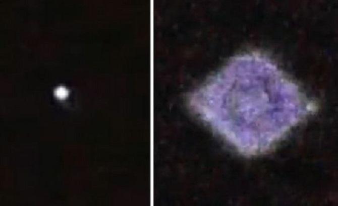Expertos desconcertados por el avistamiento de un OVNI con luces intermitentes en Inglaterra