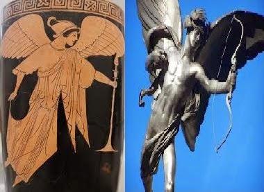 Hombres alados o «ángeles» en distintas culturas antiguas y religiones
