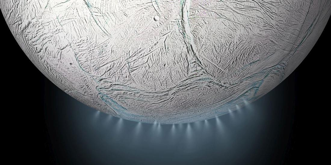 La química del mar interno de Encélado insinúa condiciones habitables