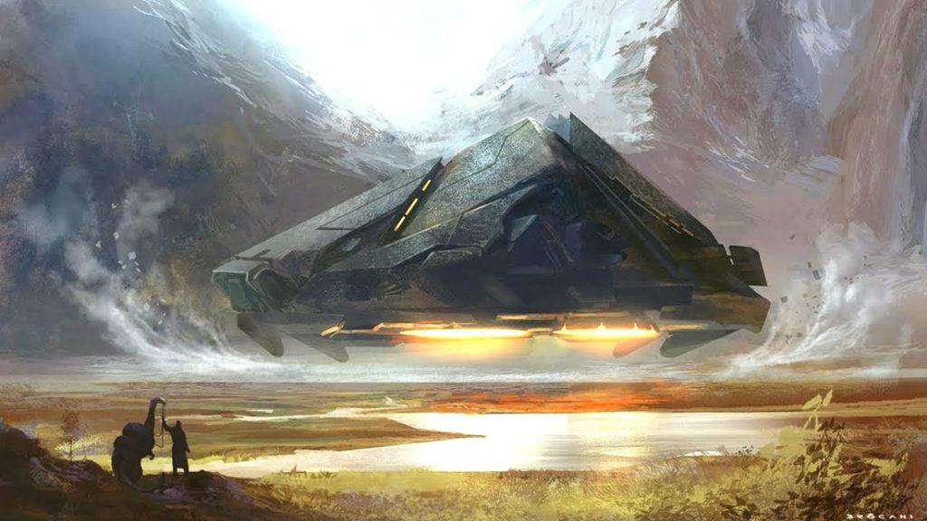 Las viejas naves de Atlantis