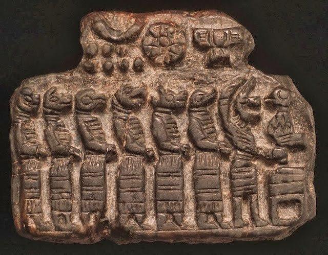 Los Apkallu, los siete sabios de eridu