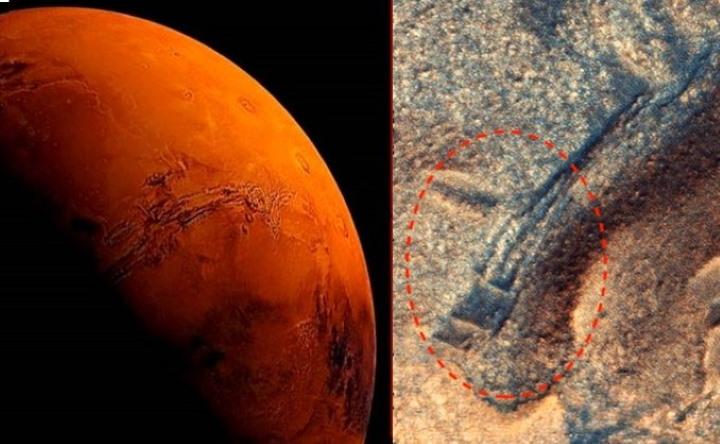 MARTE, misteriosas estructuras antiguas demuestran que los extraterrestres vivían en el planeta rojo