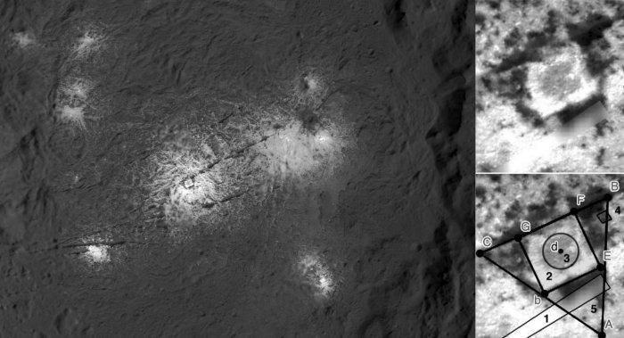 Misteriosa plaza descubierta en el planeta enano Ceres: ¿signos de extraterrestres o formación natural?