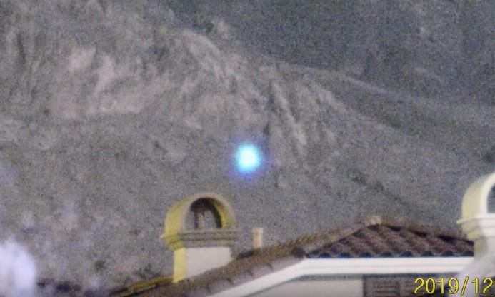 NEVADA, espectacular avistamiento de ovnis se registra en Little Red Rock de Las Vegas