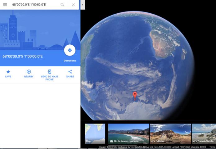 Rutas a la «Tierra Hueca» reveladas en un posible Mapa Nazi de la Antártida