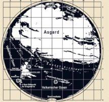 Rutas a la «Tierra Hueca» reveladas en un factible Mapa Nazi de la Antártida