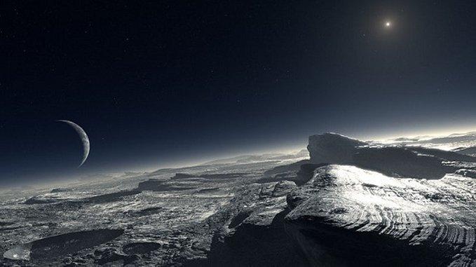 ¡Increíble! Una Ciudad De Hielo En El Espacio