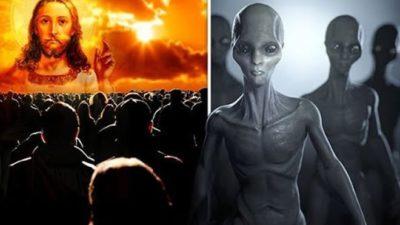 Los extraterrestres pueden estar usando la religión para controlar a la humanidad
