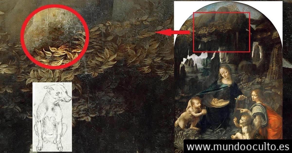 Hallan mensaje oculto en cuadro de Leonardo da Vinci