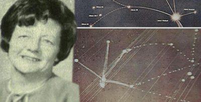 Una abducida dibuja un mapa exacto de la constelación Zeta Reticuli antes de ser descubierta