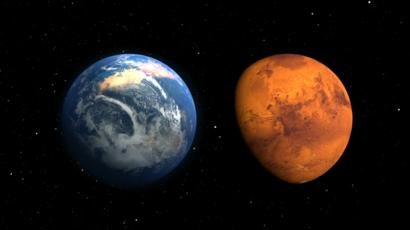 Cien años para calentar Marte, más de 100.000 para que sea respirable