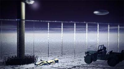 Alienígena Gris baja de su nave solo para perder la vida en una base militar de EE.UU. - 1978