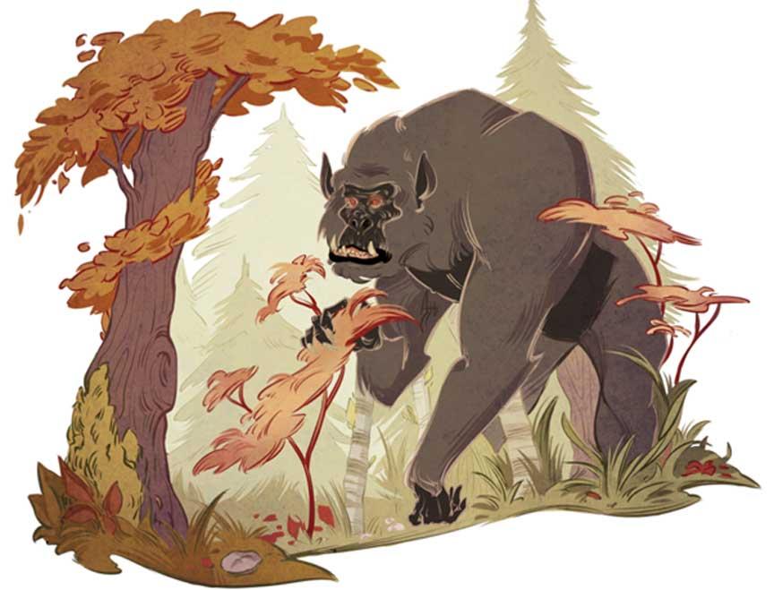 Cinco criaturas míticas y dónde encontrarlas