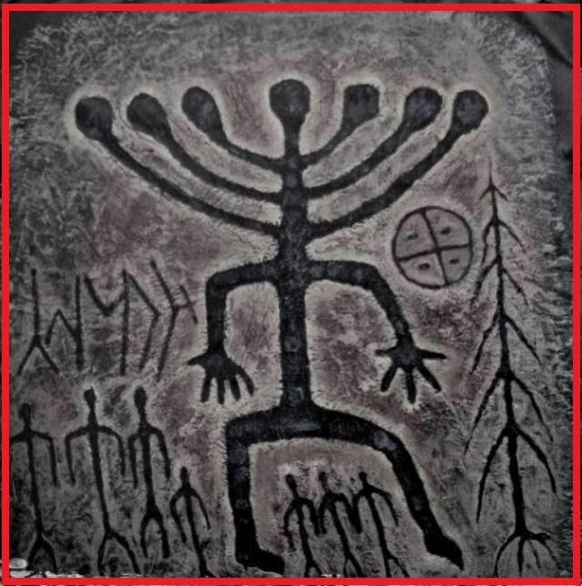 Khakassia, petroglifo hace 5000 años