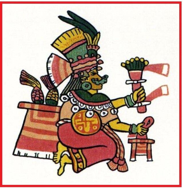 Chicomecōātl, diosa cuyo nombre significa 7 serpientes