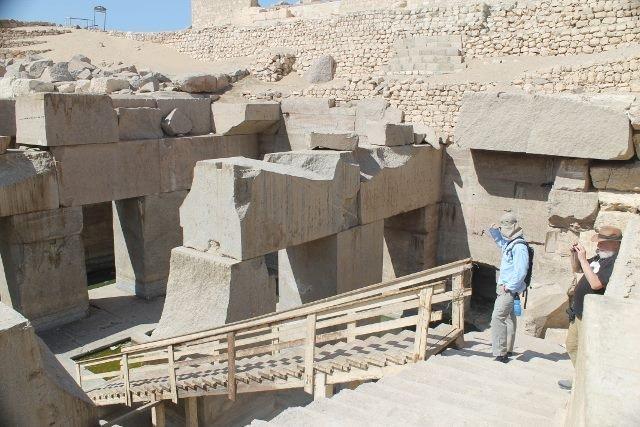 El misterioso Osirion de Abydos Egipto: ¿era una antigua planta de energía?