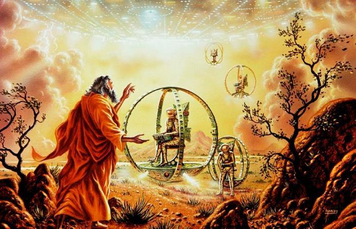 El viaje de Enoc: zonas visitados por el profeta en el Firmamento y la Tierra