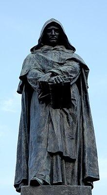 Giordano Bruno: su hipotesis del cosmos infinito que estaba lleno de mundos habitados.