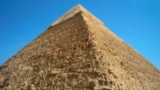 Pirámide de Keops - piedras prefabricadas