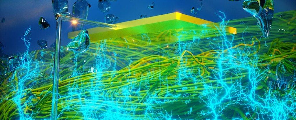 Los científicos han construido un dispositivo brillante que genera electricidad básicamente de la nada