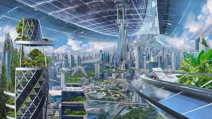Los multimillonarios quieren construir una colonia espacial para escapar del fin del mundo