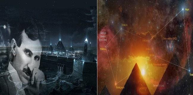 Nikola Tesla estaba obsesionado con las pirámides de Egipto ¿Porqué?