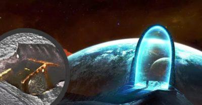 Extraña formación anómala es hallada en la superficie de Marte, ¿Puerta subterránea?