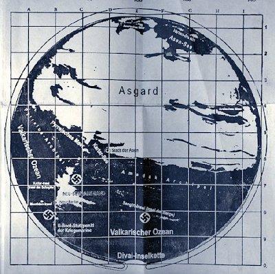 Mapa secreto de la Antartida revela las coordenadas de cómo llegar a la Tierra Hueca