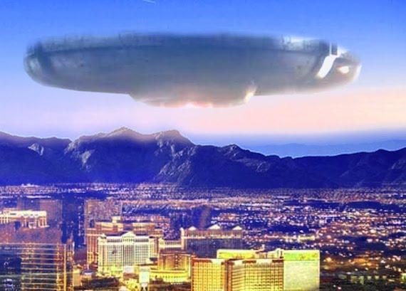 El extraño caso del choque ovni de Las Vegas