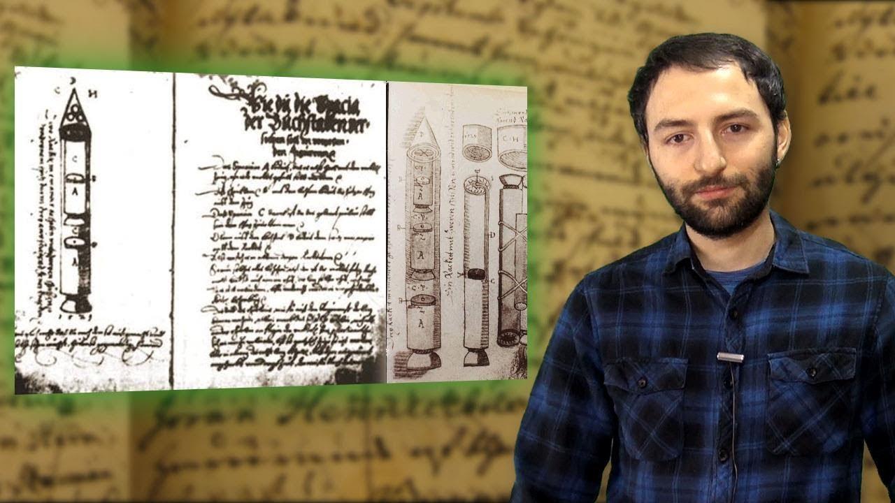 Este manuscrito muestra un FALLO en la Matrix – El cohete de Sibiu