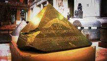 ¿Fue destruida la piedra angular de la Gran Pirámide de Egipto?.