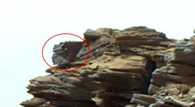 Imagen de Curiosity revela insólita «maquinaria antigua» en Marte.