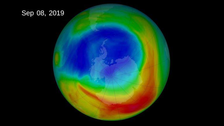 La capa de ozono se está recuperando mucho más de lo esperado.
