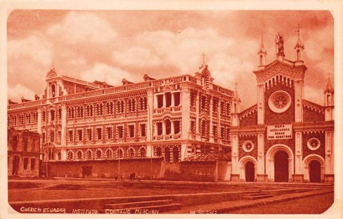 El Instituto Cornelio Merchán Tapia, que desde 1936 hasta 1962, fue sede del Museo Crespi