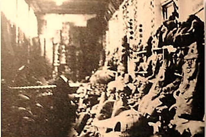 El conde italiano Pino Turolla, quién legó un informe muy negativo sobre el Museo Crespi, durante su visita en la década del 60'