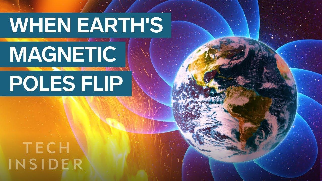 ¡Los polos están cambiando, el campo magnético se está volviendo y será muy desagradable para nuestra civilización!